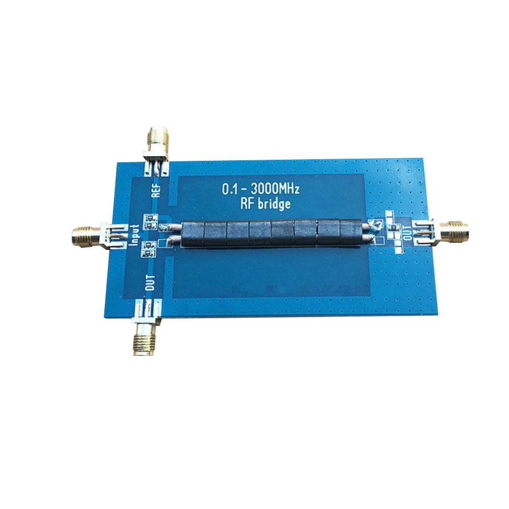 RF SWR Reflection Bridge 0.1-3000 MHZ Standing Wave Bridge Standing Wave Ratio Bridge With Long Service Life Hot Sale