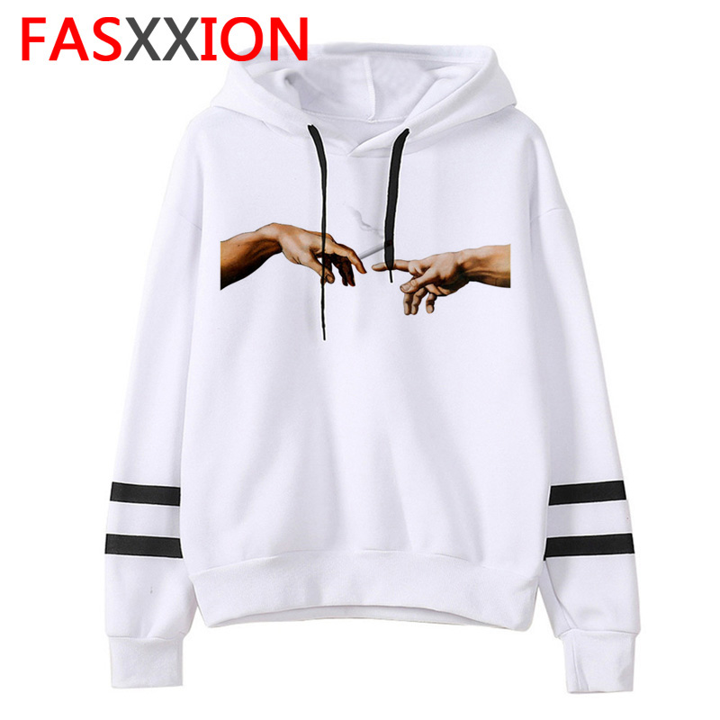 Vaporwave Japanese Anime Hoodies Man/women Funny Top Ulzzang Sweatshirt Aesthetic Casual Fashion Grunge Male Clothing