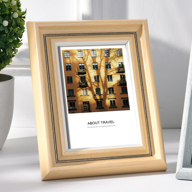 Beautiful Nordic Picture Frame Color: Q Size: 5 inch