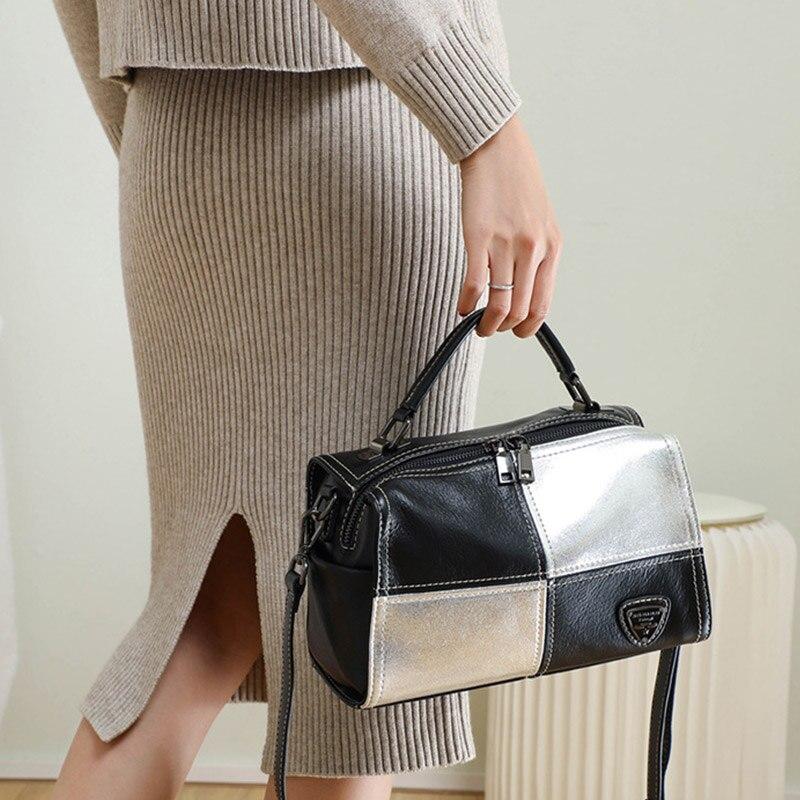 1PCS Neuf Femme Sac /à Main Pochette Soir/ée Mini Multi-Fonction Sequins Brillant Mode Argent/é Hengsong