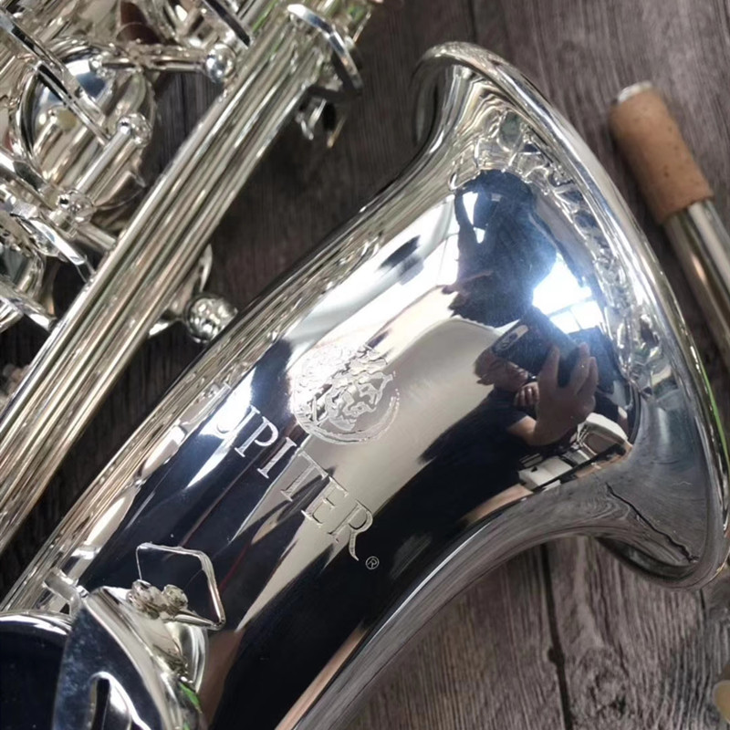 Jupiter JAS 700Q Alto Eb Tune Saxophone Brass Nickel Silver Plated BodyMusic Instrument E-flat Sax With Case