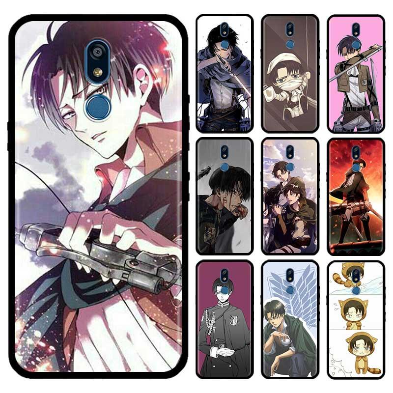 Attack On Titan Case For LG G6 G7 G8 Thinq K40 K40s Q51 Q60 Q61 Q70 K41s K50s K51s K61 Tpu Phone Carcasa Capas