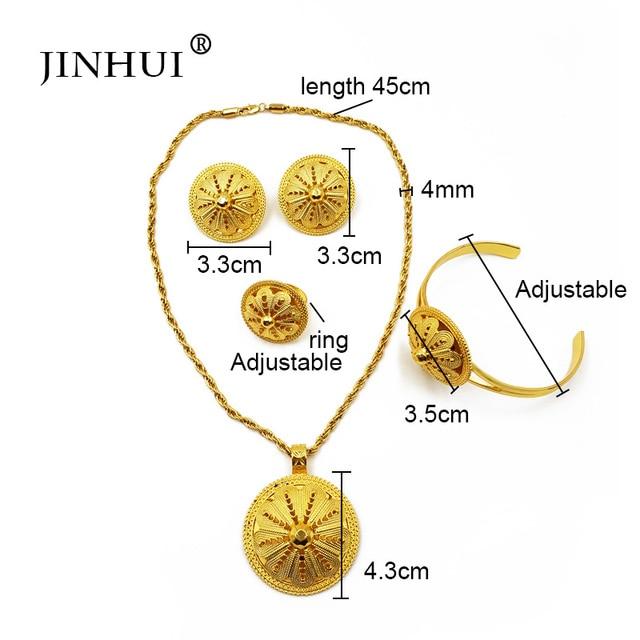JINHUI Ethiopian Jewelry...