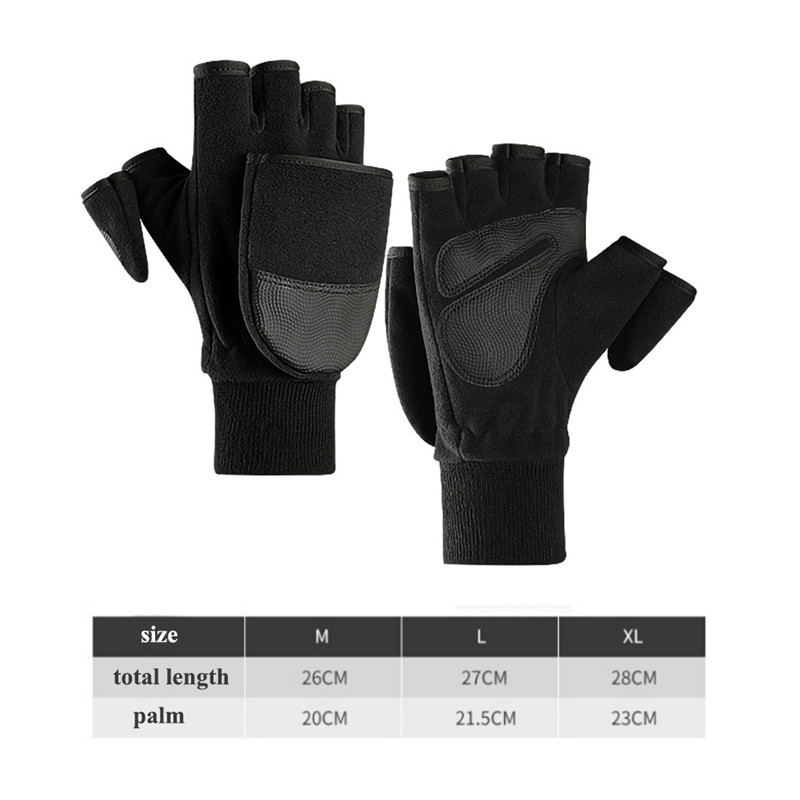 High Quality Fleece Durable Wear-resistant PU Leather Gloves Winter TouchScreen Windstopper Gloves Ski Snowboard Thermal Gloves