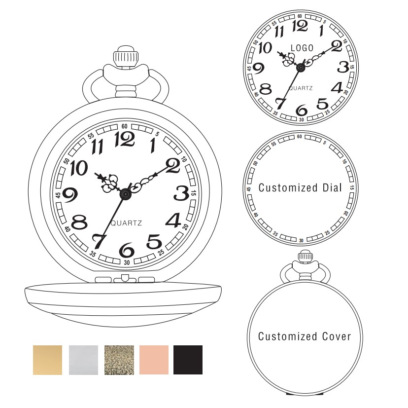 Customized Pocket Watch ( Please Do Not Place This Link Alone Without An Order )