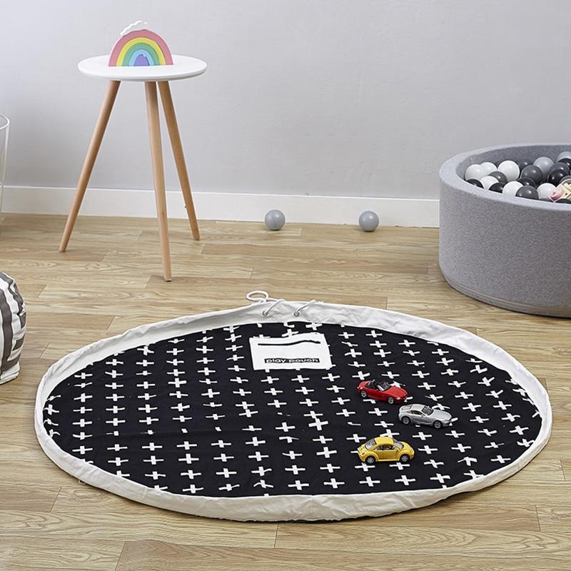 Newborn Infant Playmat Activity  Developing Mat Carpet Room Decoration Kids Toys Storage Bag  Picnic Carpets YZL015