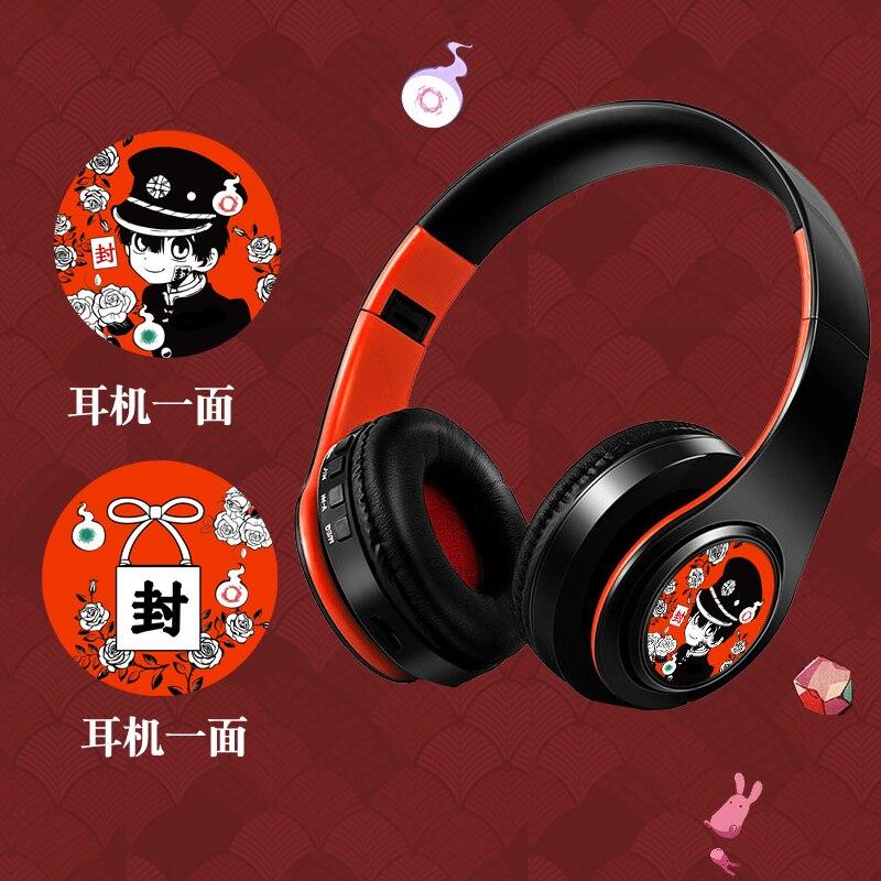 Anime Toilet-Bound Hanako-kun Cosplay Wireless Bluetooth Headset Cute Gift