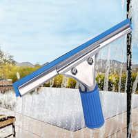 Stainless Steel Window Squeegee Glass Wiper Cleaning Set Window Scraper Cleaner For Shower Car Mirror Kitchen Bathroom Floor