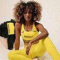 Roupa feminina magro estiramento duas peças conjunto de alta elastic fitness agasalho corredores magro estiramento outwear leggings esportivas