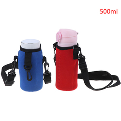 Sport Water Bottle Cover Neoprene Insulator Sleeve Bag Case Pouch For 500ML Portable Vacuum Cup Set Sport Camping Accessories