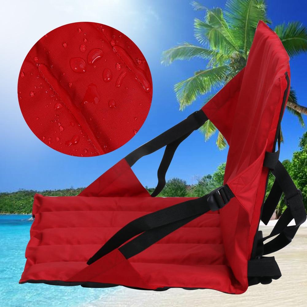 Adjustable Backrest EVA Soft Support Marine Accessories Fishing Canoe Non Slip Camping Hiking Kayak Seat Back Cushion Surfboard