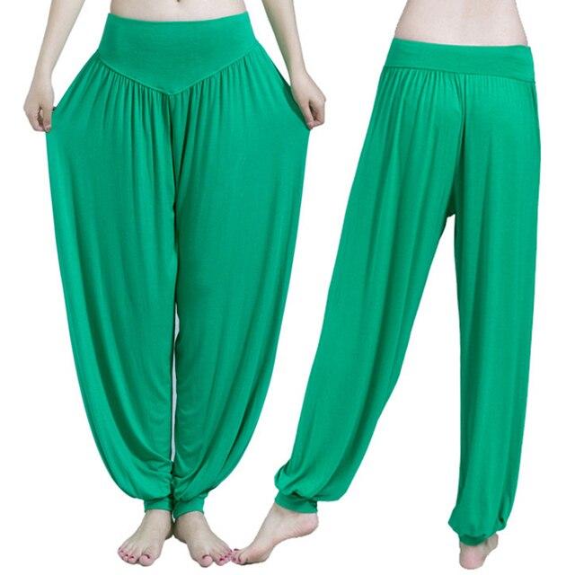 Wide Leg Yoga Pants Women Loose Pants Long Trousers for Yoga Dance  M L XL XXL XXXL Soft Modal Home Pants Yoga TaiChi Pants 6