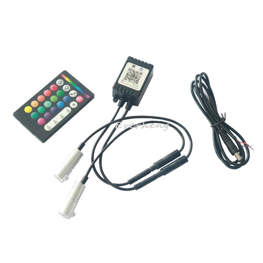 APP IR Remote Control 12v 3W Single Color Or Multi Color RGB Fiber Optic Led Light Engine With APP Control Car Use