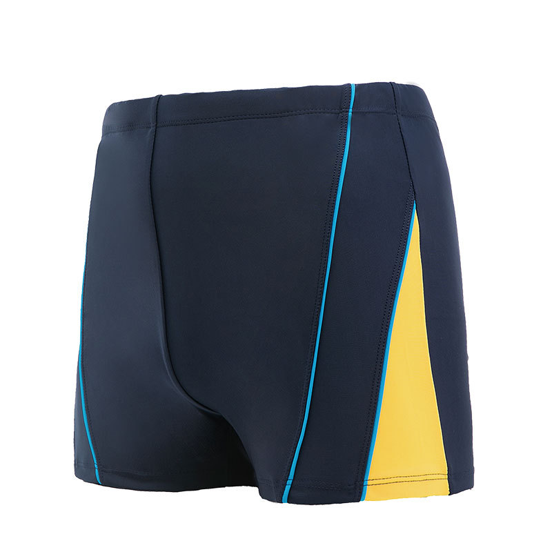 Men Plain Strap Stripe Stripes-Style Swimming Trunks Support A Large Amount Buy Large Amount Favorably