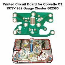 Printed Circuit Board für Corvette C3 1977 1982 Gauge Cluster 602505