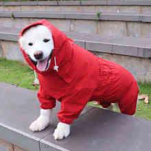 Clothing Golden Retriever Outfit Costume Jumpsuit Dog-Raincoat Bulldog Labrador Samoyed