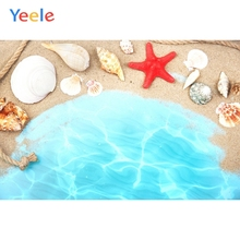 Yeele Summer Beach Party Photocall Shell Star Cool Photography Backdrops Personalized Photographic Backgrounds For Photo Studio