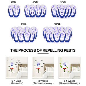 Image 5 - 2/4/6 pcs Ultrasonic Mice Repeller Electronic Ultrasound Mouse Rejector Anti Mosquito Repellent Cockroach Bug Pest Rat Rejection