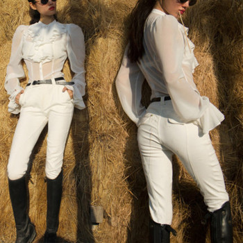 Show Equestrian Riding Apparel Exquisitely Designed Breathable Comfortable Stylish  1