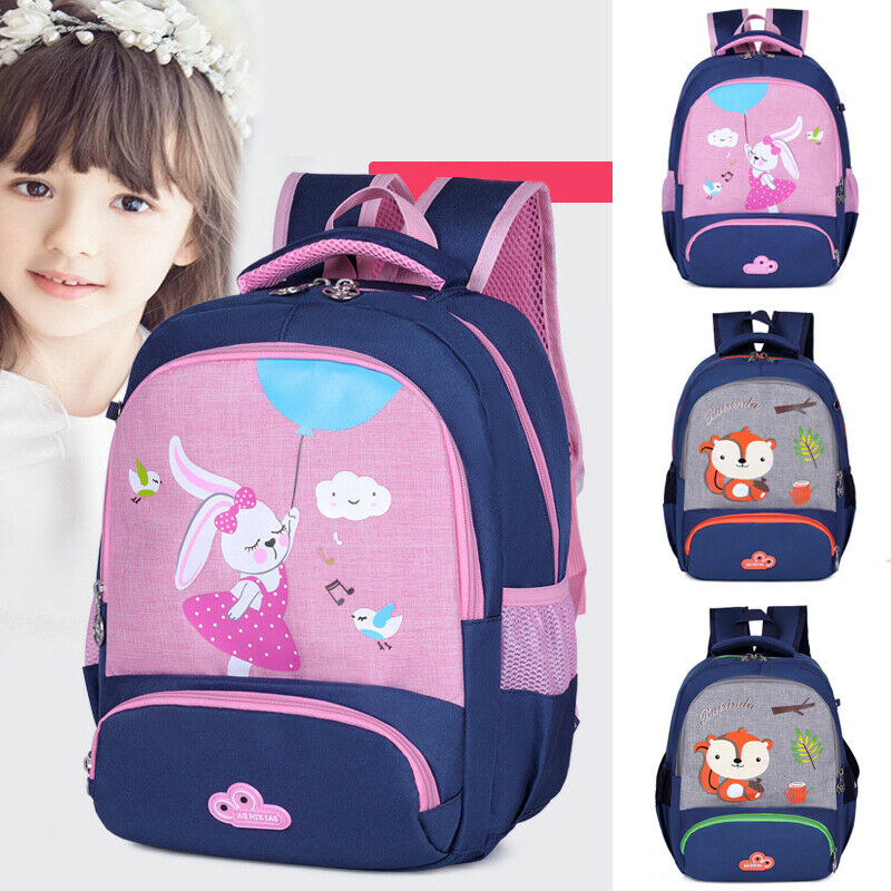 Toddler Kid Children Boy Girl 3D Cartoon Animal Backpack School Bag Rucksack US