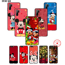 IYICAO Mickey Minnie Mouse étui pour huawei souple P30 P20 P10 P9 P8 2017 2016 2015 P Smart Z Plus 2019 Mate 20 10 Lite Pro Mini(China)