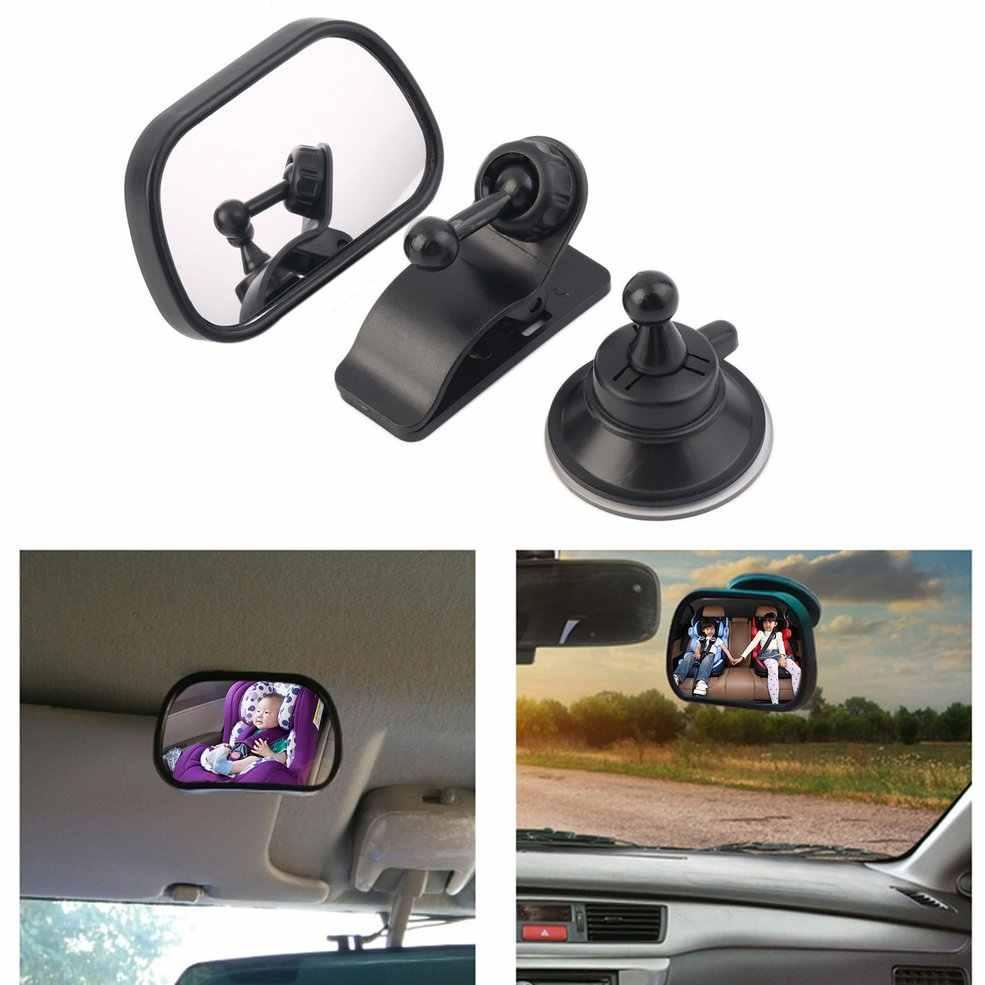 Tirol nouveau réglable siège arrière de voiture miroir bébé face à vue arrière appui-tête montage miroir carré sécurité bébé enfants moniteur