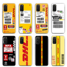 Abdeckung Telefon Fall für Samsung Galaxy S8 S9 S10 Plus S10e S20 FE S20 Ultra 5G S10 Lite S7 rand Shell Capa DHL Express
