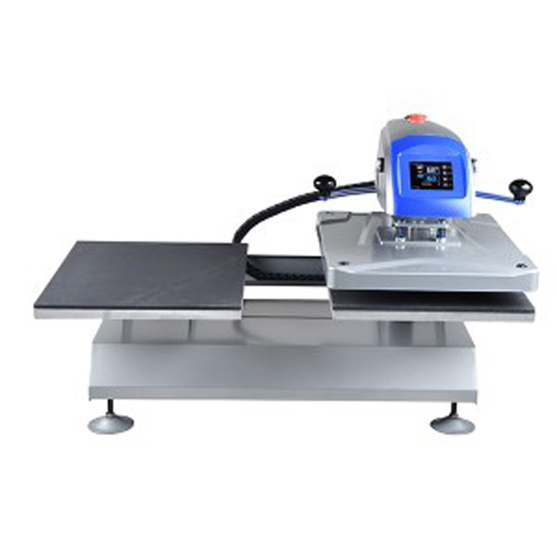 Table Size 400x 500mm Twin Station Pneumatic Shuttle T Shirt Heat Printing Machine