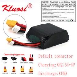 KLUOSI 3S3P 12V 10.5Ah 10Ah 12.6V High Capacity UAV Rechargeable Li-ion Battery for Parrot Disco Various RC Airplane Quadrotor