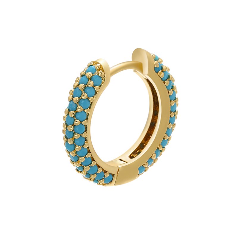 gold blue-1piece