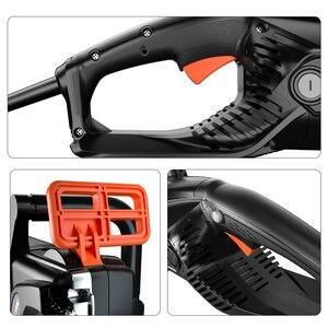 Image 3 - LOMVUM motosierra eléctrica potente AC 6980 V, 220 W, herramientas eléctricas de jardín, cortador de madera para el hogar, 4 cuchillas