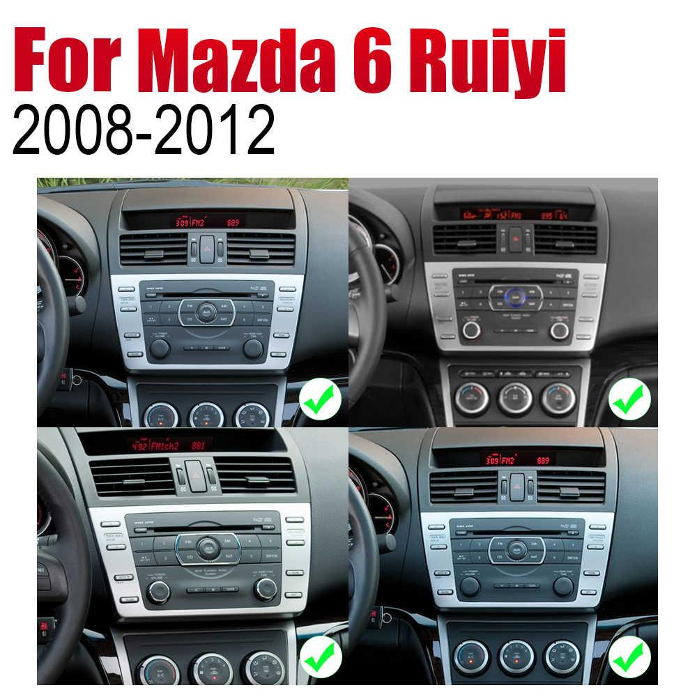 تساى شى الروبوت مشغل أسطوانات للسيارة GPS نافي لمازدا 6 Ruiyi 2008 ~ 2012 لاعب والملاحة WiFi بلوتوث Mulitmedia نظام الصوت ستيريو EQ