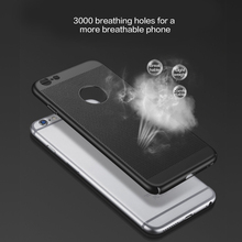 Phone Slim Case for iPhone Breathable Ultra Thin Hollow Heat-Dissipation Hard Plastic Protective