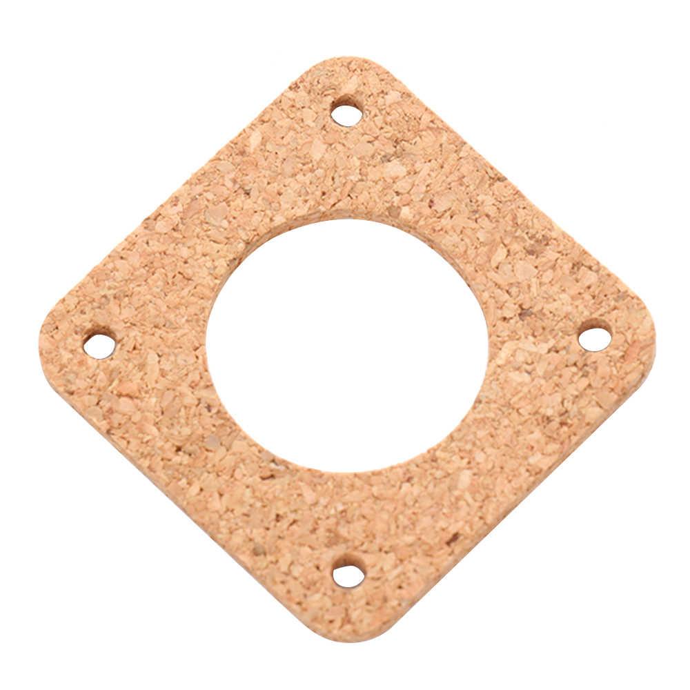 3mm Cork ปะเก็น Isolator สำหรับ Nema17 Stepper มอเตอร์ Damper 42 มอเตอร์หน้าลดลง Resonance จากมอเตอร์