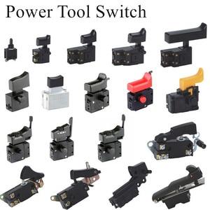 Image 1 - Miniatur Power Tool Schalter Speed Control Trigger Taste für winkel grinder Elektrische hammer Auswirkungen bohrer Ausrüstung Zubehör