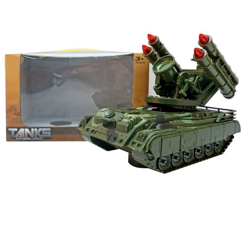 Детский Электрический танк, игрушка, светящаяся музыкальная модель автомобиля, универсальный звук и светильник, танк, сияющий танк