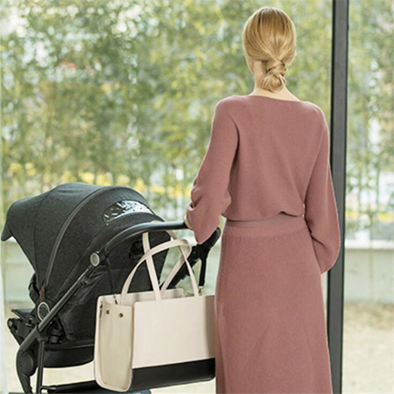 Korean Style Mummy Maternity Nappy Bag Baby Diaper Bag Infant Nursing Kids Clothes Toys Storage Bags Babies Nappy Bag Baby Care