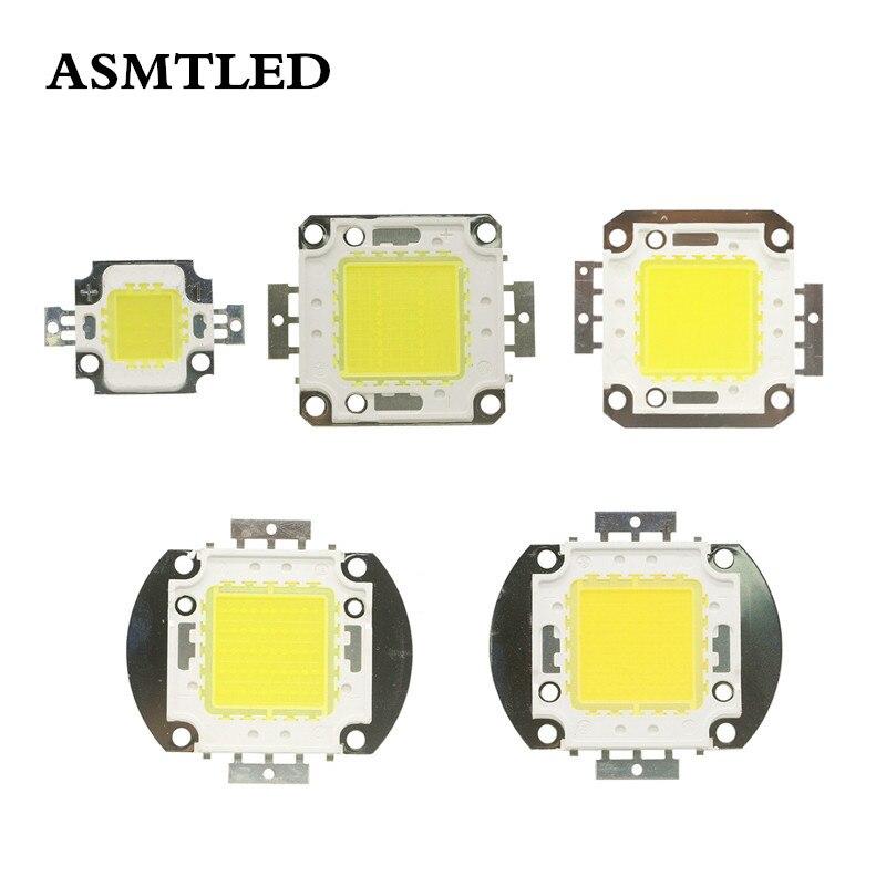 DC 12V 24-38V White 6000-6500k Integrated LED Light Beads 10W 20W 30W 50W 100W COB LED Lamp Bulb Chip For Spotlight Floodlight