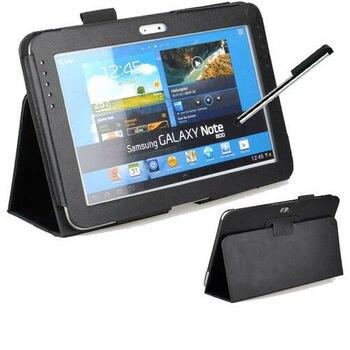 Dla Samsung Galaxy Note 10.1 2012 GT-N8000 N8000 N8010 N8020 Tablet etui z klapką skrzynki pokrywa PU Folio stań pokrywy PU skórzane etui