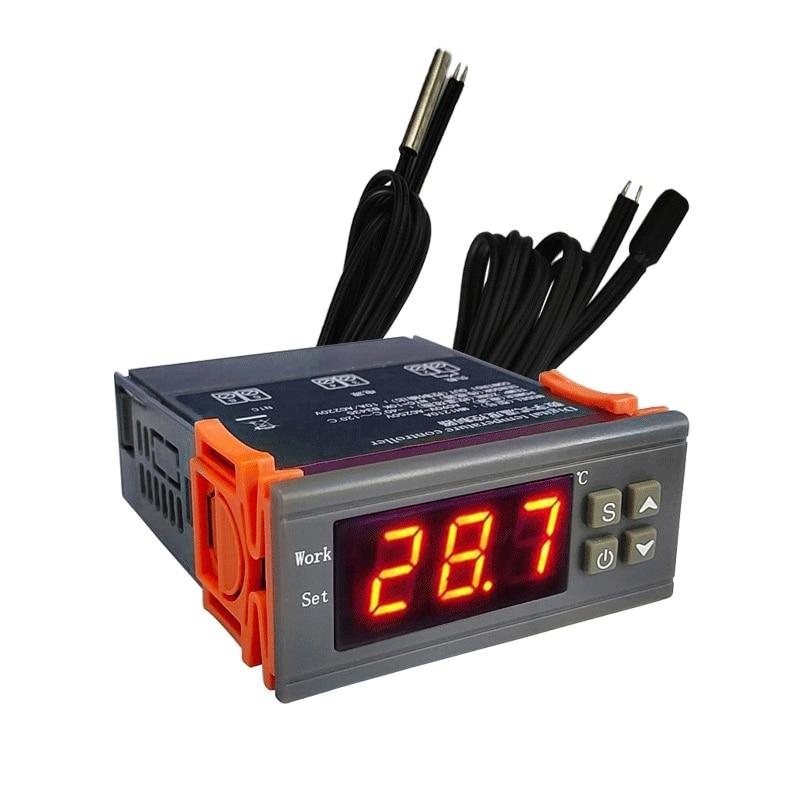 SHGO HOT-MH1210W AC90V-250V Digitale Temperatur Thermostat Regler Controller Control NTC Sensor