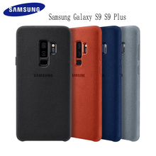 Samsung S9 case Original Genuine Suede Leather Fitted Protector Case for Samsung S9 Plus S9+ EF XG9650 9500 For Galaxy S9 Cover