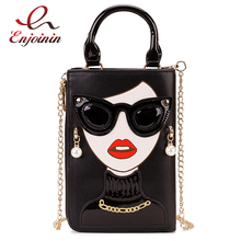 New Style Sexy Woman Fashion Small Crossbody Bag for Women 2020 Shoulder Chain Bag Pureses and Handbags Pu Leather Clutch Bag