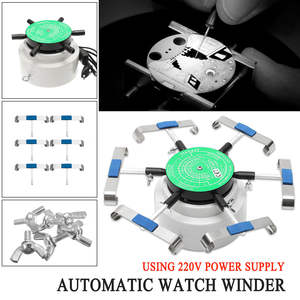 Watch-Winder Automatic-Watch-Repair-Tools for 6-Arms 220V Cyclotest