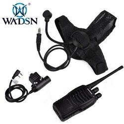 WADSN z-タクティカル zSelex TASC1 ヘッドセット + zPeltor PTT + ケンウッド Baofeng 888s ラジオ WZ028-BK-Z113-KEN エアガン狩猟ヘッドホン