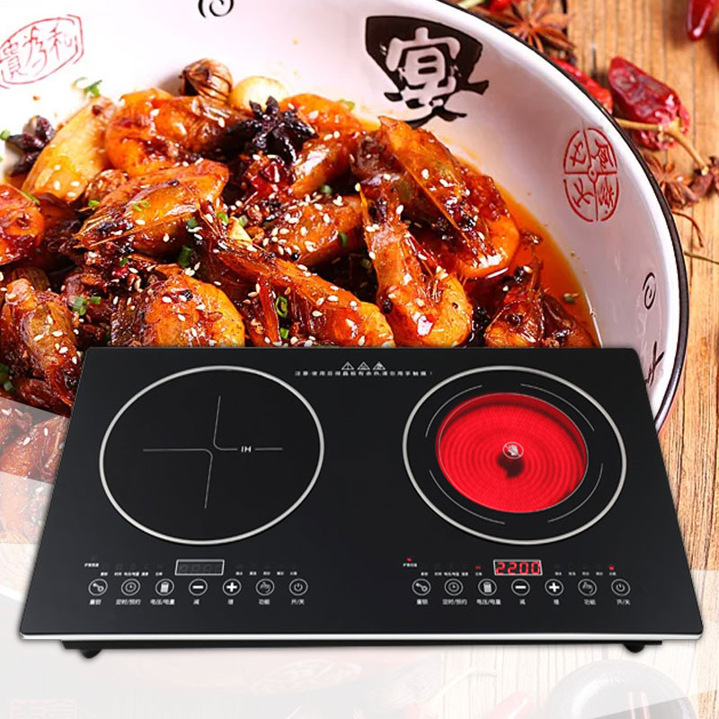 Household High Power Multifunction Desktop Mosaic Type Electric Furnace Embedded Electric Ceramic Heaters Induction Cooker