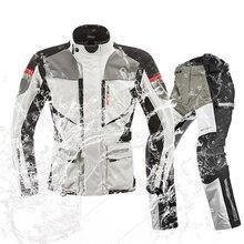 MOTOBOY männer Motorrad Wasserdichte warme Jacken LOKOMOTIVE Motorrad Racing Schutz Getriebe Winter Jacken motorrad Kleidung