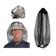 Hat Anti-Mosquito Head Fishing-Cap Camping-Equipment Travel-Protector Bee-Insect-Mesh