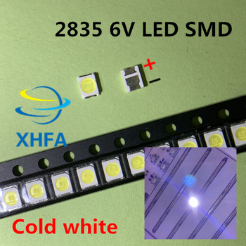 50PCS JUFEI LED Backlight 1210 3528 2835 1W 6V 96LM Cool white LCD Backlight for TV TV Application 01.JT.2835BPWS2-C image
