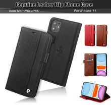 Pierre Cardin Classic Genuine Leather Flip over Card slot For Apple iPhone 11 Phone Case Cover 6.1 inch Full package Anti Shuai shuai page 10