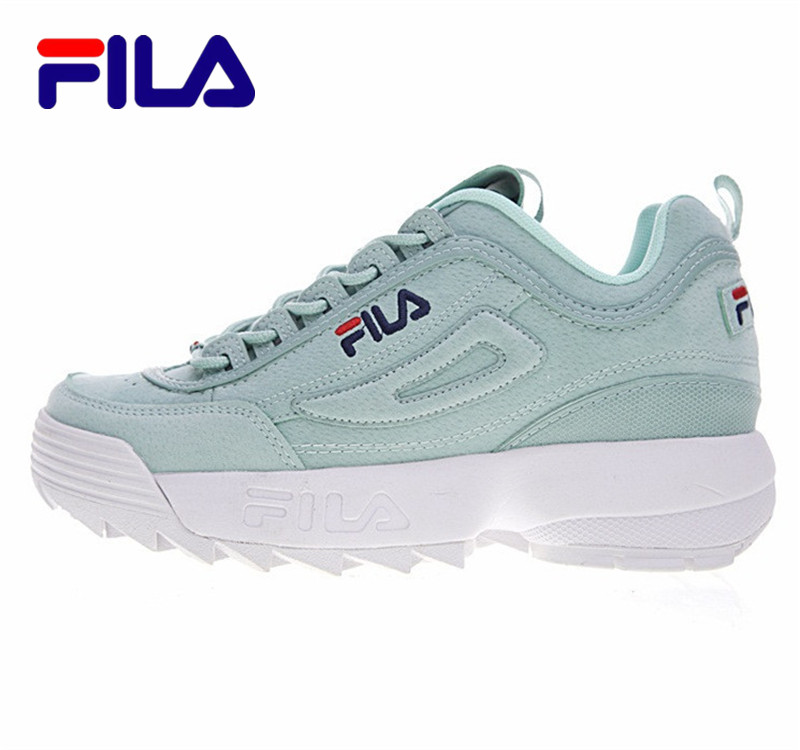 2017 FILA Disruptor 2 Sneakers Cushioning Women Running Shoes Breathable Wave Sports Shoes for new 4 colors size 36-41